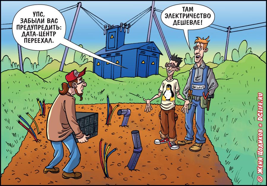 Мобильные ЦОД